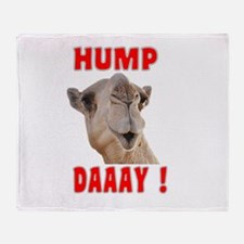 Hump Daaay Camel Throw Blanket