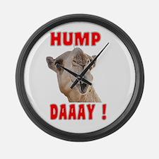 Hump Daaay Camel Large Wall Clock