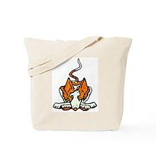 Ib in Orange Tote Bag