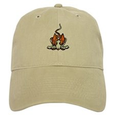 Ib in Orange Baseball Baseball Cap