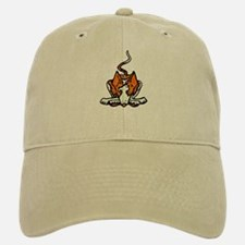 Ib in Orange Baseball Baseball Cap