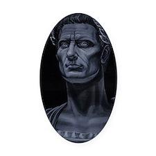 Julius Caesar Oval Car Magnet