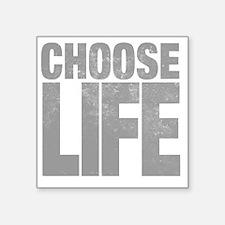 "chooselifes Square Sticker 3"" x 3"""