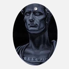 Julius Caesar Oval Ornament