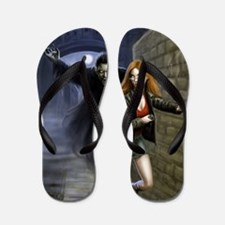 kiss me deadly vamp higher Flip Flops