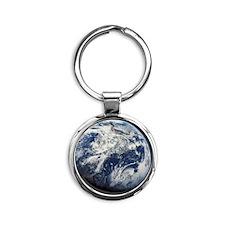 i4slidrearthinspace Round Keychain