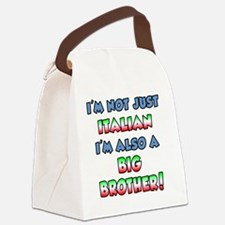 Italian Big Brother Canvas Lunch Bag