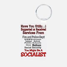 socialist Keychains