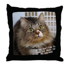 CATNIPGraphic Throw Pillow