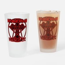 Paranormal signs Drinking Glass