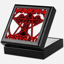 Paranormal signs Keepsake Box