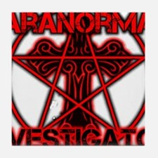 Paranormal signs Tile Coaster