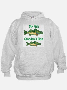 Mine/Grandpa's Fish Hoodie