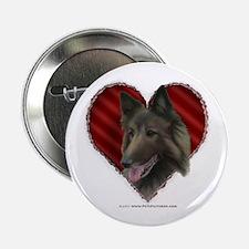 Belgian Tervuren Valentine Button