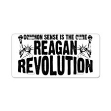 Reagan Revolution Aluminum License Plate