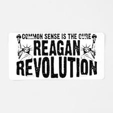 Reagan Revolution Aluminum License Plate
