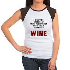 Download Wine Women's Cap Sleeve T-Shirt