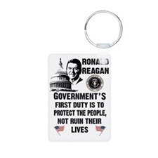 Governments First Duty Keychains