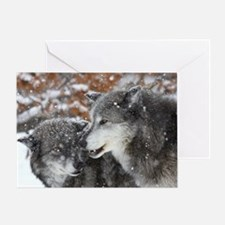 ms shn wolf Greeting Card