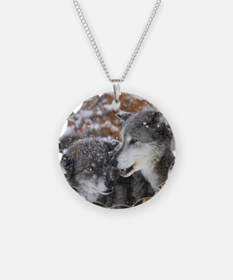 x10 shn wolf Necklace