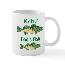 My fish, dad's fish - Mug