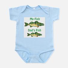 My fish, dad's fish - Infant Bodysuit