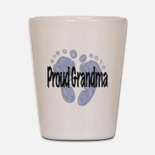 Proud Grandma (Boy) Shot Glass