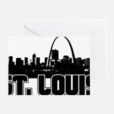 St. Louis Skyline Greeting Card