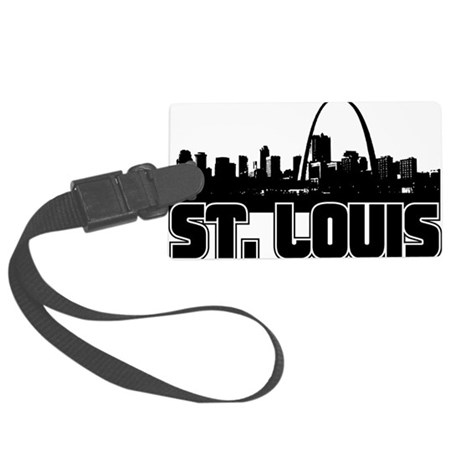 St. Louis Skyline Large Luggage Tag