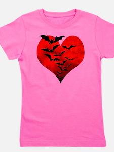 Heart_Bats_Dark_T Girl's Tee