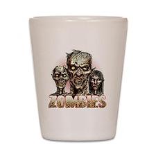 zombies Shot Glass