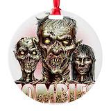 Zombie Round Ornament