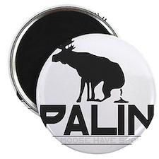 Palin Moose Dropped-b Magnet