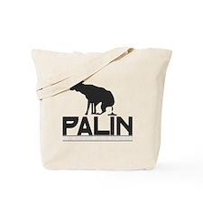 Palin Moose Dropped-b Tote Bag