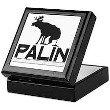 Palin Moose Dropped-b Keepsake Box