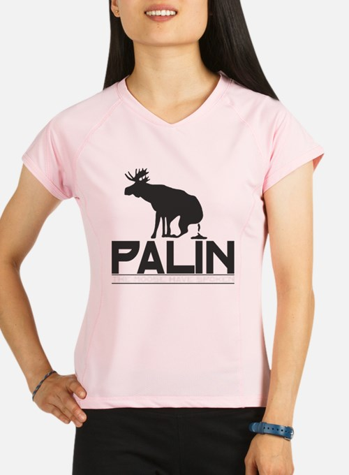 Palin Moose Dropped-b Performance Dry T-Shirt