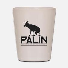 Palin Moose Dropped-b Shot Glass