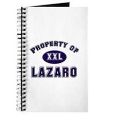 Property of lazaro Journal