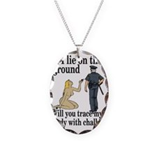 on the ground Necklace