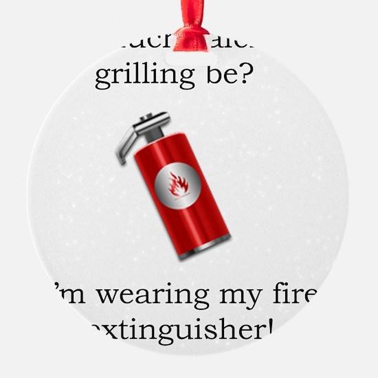 grilling Ornament