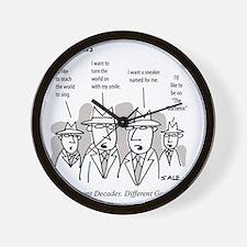 MEN_Goals_Bachelor Wall Clock
