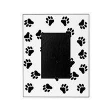 BLACK PAW PRINTS Picture Frame