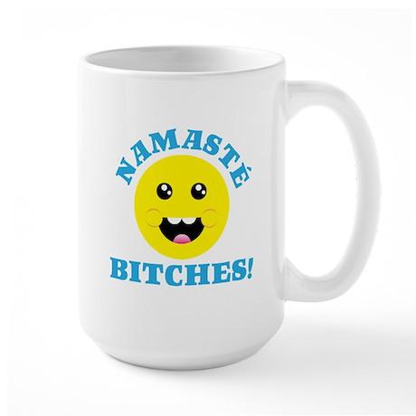 Namaste Bitches Mugs
