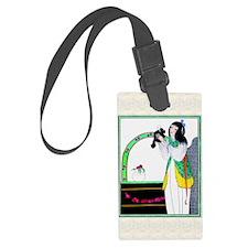 IPAD 5 MAY GDBT BeautyBeast Luggage Tag