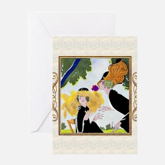 IPAD-1 JAN GDBT-MORGUE Greeting Card