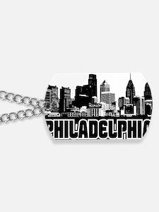 Philadelphia Skyline Dog Tags