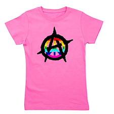 benevolent anarchist-hat Girl's Tee