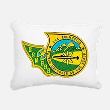 bremerton patch Rectangular Canvas Pillow