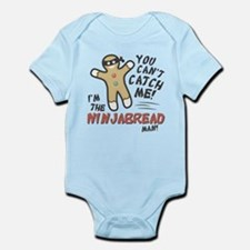 Ninjabread Man Infant Bodysuit