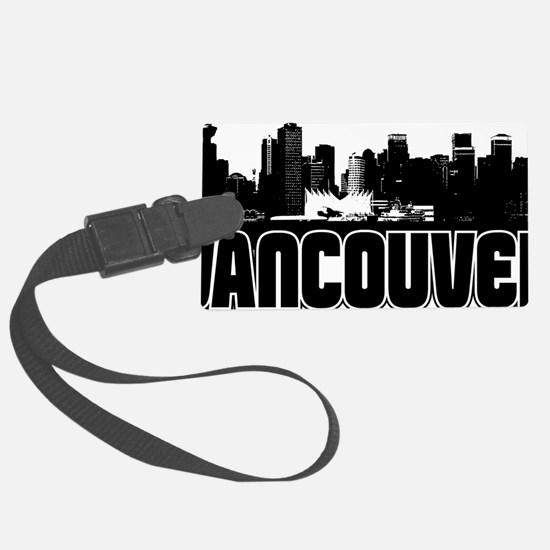 Vancouver Skyline Luggage Tag